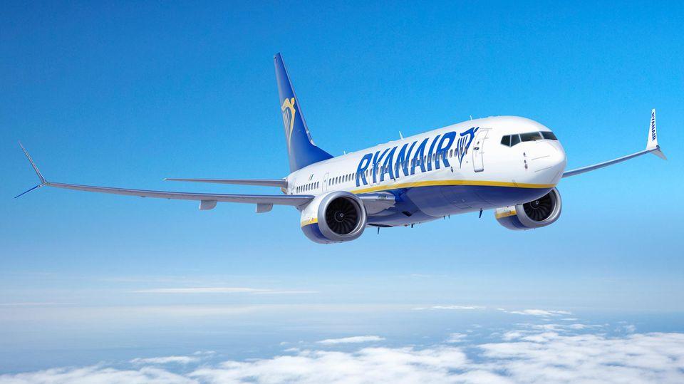 Boeing 737 May von Ryanair