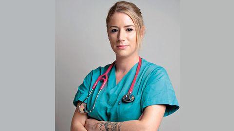 Franziska Böhler arbeitete von 2007 bis 2020 als Krankenschwester auf einer Intensivstation