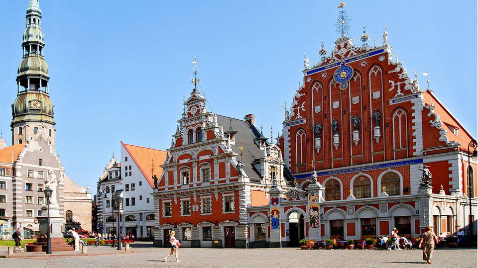 Corona-Regeln für Estland, Lettland und Litauen. Im Bild ist die estnische Hauptstadt Tallinn zu sehen