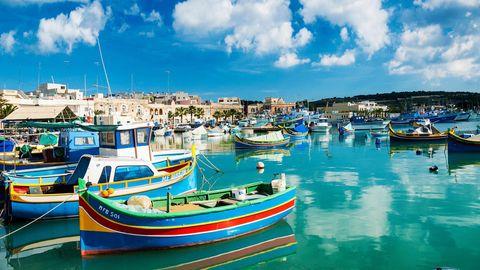 Corona Regeln auf Malta, im Bild zu sehen ist der Hafen von Malta