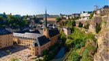 Corona Regeln in Luxemburg, auf dem Foto zu sehen sind die Kasematten in Luxemburg-Stadt