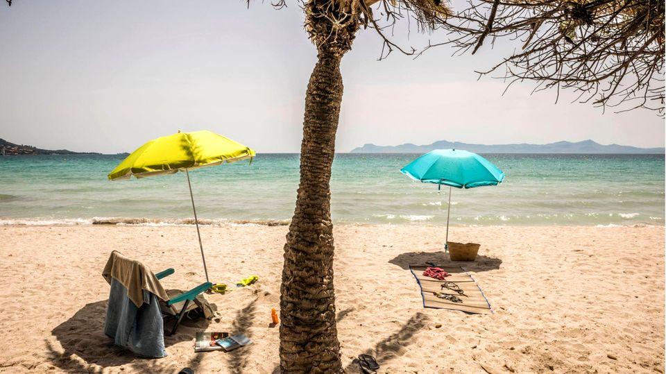 Corona-Regeln: Im Bild zu sehen ist Mallorca, das Lieblingsziel der Deutschen in Spanien