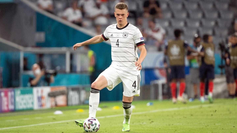 Matthias Ginter im Spiel Deutschlandgegen Frankreich