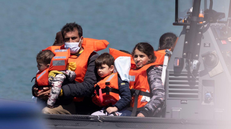 Mehr als 500 Migrantinnen und Migrantenerreichten in der letzten Maiwoche die britische Küstenstadt Dover