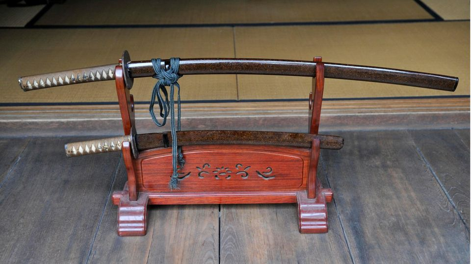 Samuraischwerter in Asien