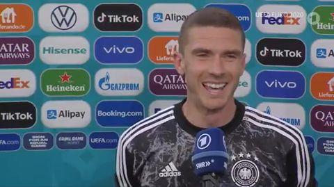 """Robin Gosens nach dem Portugal-Spiel: """"Kannst mich gerne mal zwicken"""""""