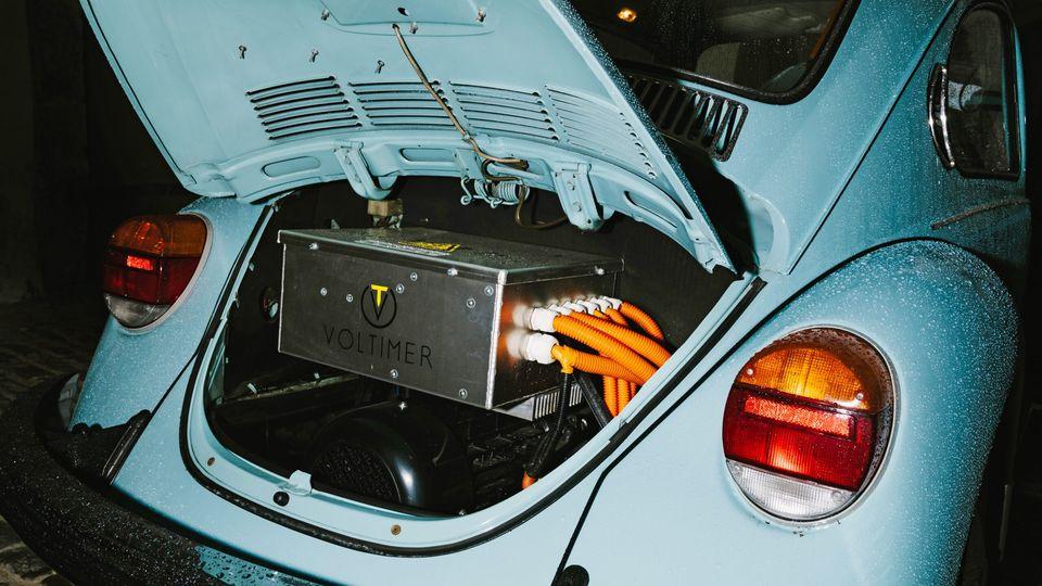 Seit 1973 rasselte hier der Boxermotor, jetzt summt Elektrik