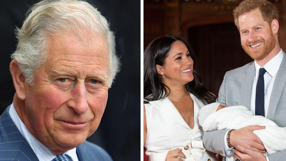 Prinz Charles. Meghan, Harry