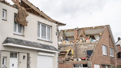 Tornado in Belgien