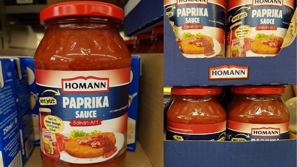 """Die Firma Homann hat ihre Saucen überarbeitet – aus der nicht mehr zeitgemäßen Bezeichnung """"Zigeuner Sauce"""" wurde die """"Paprika Sauce Balkan-Art"""". Leider nicht die einzige Änderung:Denn seit dem Relaunch sind nur noch 400 statt 500 Milliliter in der Packung - bei gleichzeitig steigendem Preis. So ist der Preis je ml etwa bei Kaufland in Hamburg um 88 Prozent gestiegen, errechnet die Verbraucherzentrale Hamburg.ÄhnlichePreisaufschläge soll es nach ihren Recherchen bei Edeka, Netto und anderen Kaufland-Filialen geben.Einen Grund nannte Homann den Verbraucherschützern auf Anfrage nicht. Der Geschmack der Sauce hat sich laut Hersteller nicht geändert. Die neue Rezeptur verzichtet zwar auf den Süßstoff Natriumsaccharin, dafür ist mehr Zucker drin. (Juni 2021)"""