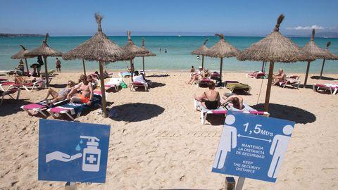 Platja de Palma in Mallorca