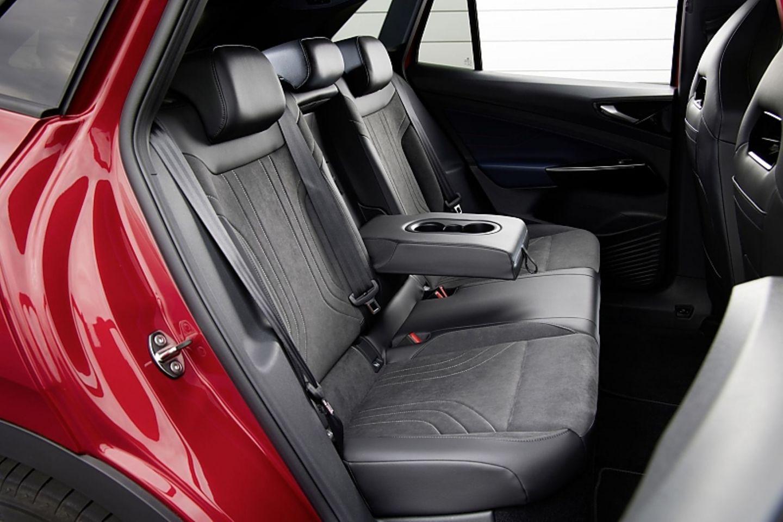 Hinten ist auch im VW ID.4 GTX viel Platz
