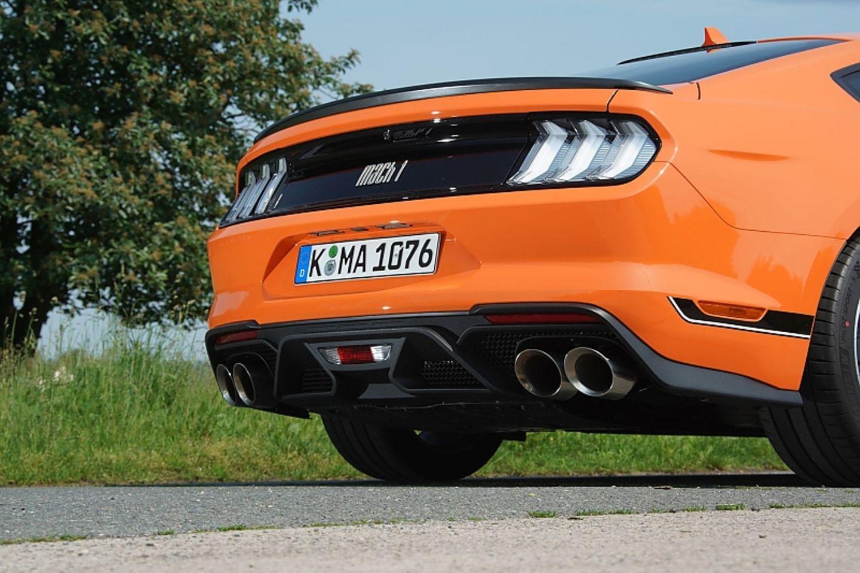 Auch die Aerodynamik des Ford Mustang Mach 1 ist effizienter als bei den Standardmodellen