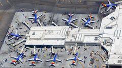 Der Terminal 1 auf dem Flughafen Los Angeles (LAX): Southwest Airlines fliegt 115 Airports an. Die meisten liegen in den USA und einige Ziele in Kanada, Mexiko, Mittelamerika sowie in der Karibik.