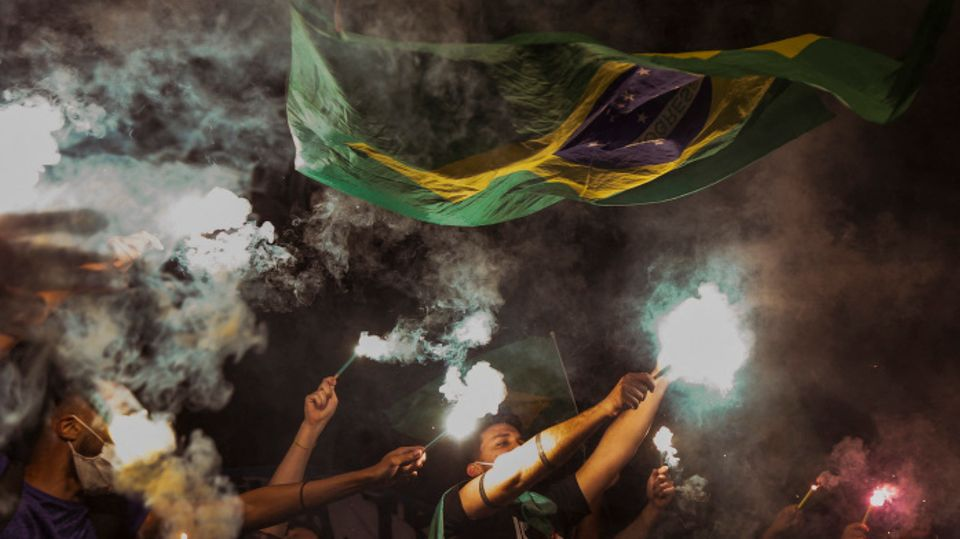 Proteste in Sao Paulo