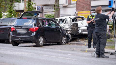 Schwerer Unfall: In Hamburg starb ein vier Jahre altes Kind
