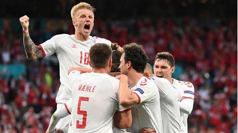 Dänemark steht im Achtelfinale der EM 2021