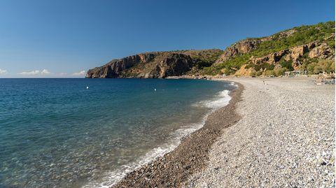 Strand auf der Insel Kreta