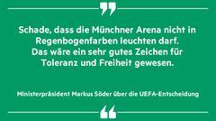 Markus Söder über die UEFA-Entscheidung