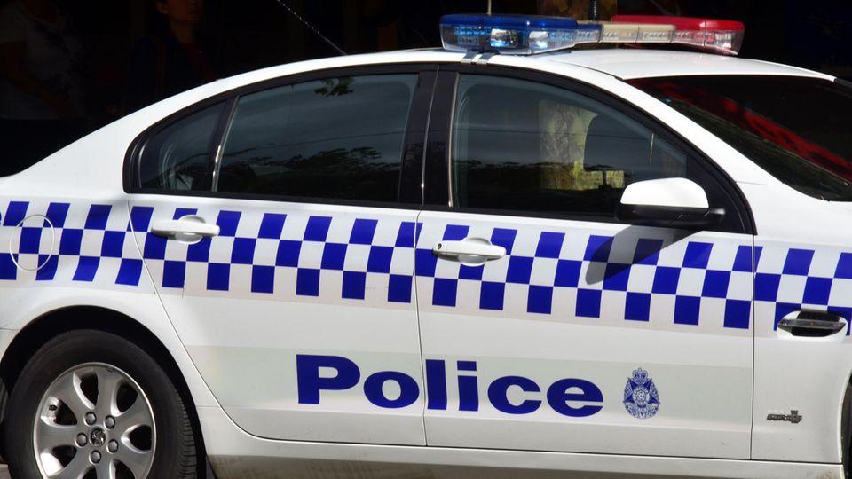 Ein Einsatzwagen der Polizei von Victoria, Australien