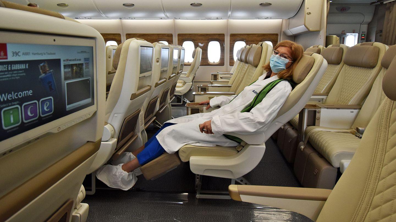 Emirates Airbus A380 Premium Economy Class