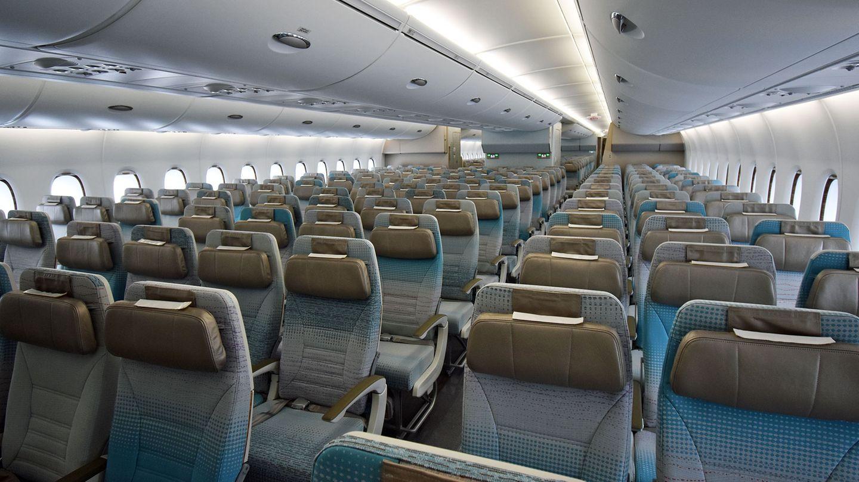 Emirates Airbus A380 Economy Class