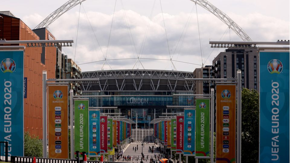 Das Finale der EM 2021 soll im Wembley-Stadion in London ausgetragen werden