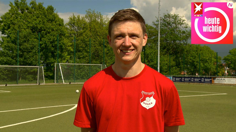 Torwarttrainer TillSponholzvomSV HägerinNordrhein-Westfahlen
