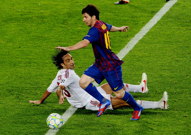Nesta Messi Milan Barca
