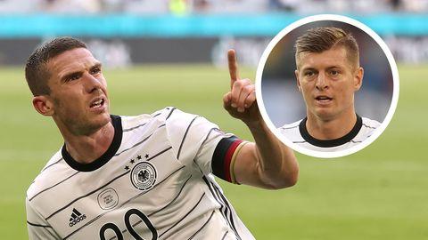 Robin Gosens Toni Kroos DFB Germany
