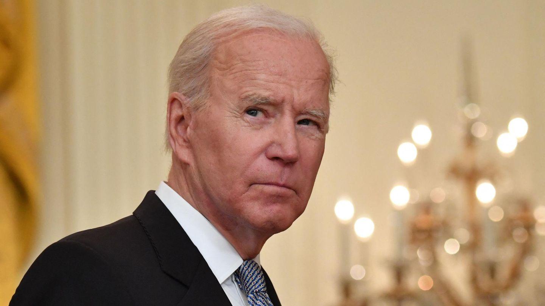US-Präsident Joe Biden schaut ernst