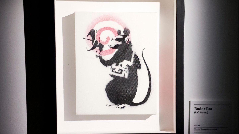 Radar Rat von Banksy