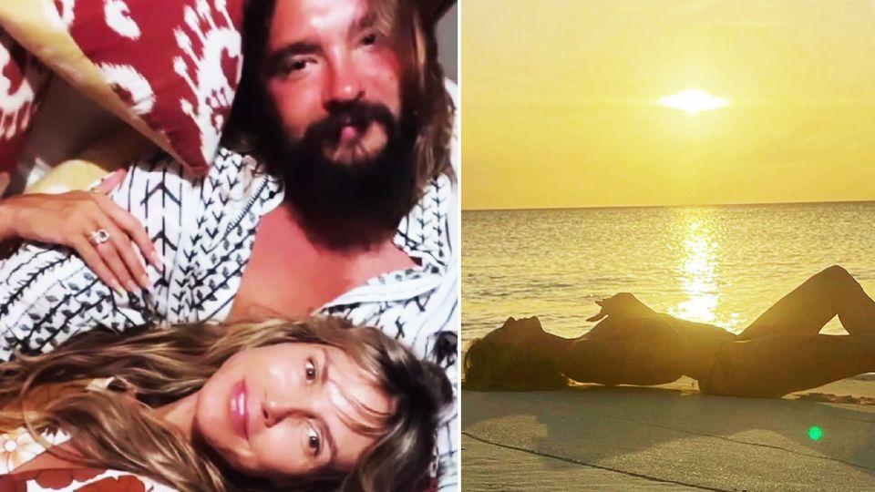 Heidi Klum im Urlaub mit Ehemann Tom Kaulitz