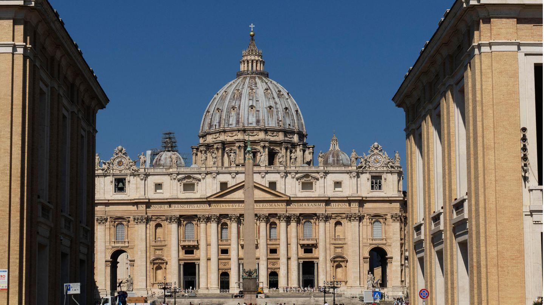 Der Petersdom in der italienischen Hauptstadt Rom