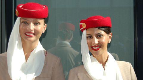Flugbegleiterinnen von Emirates