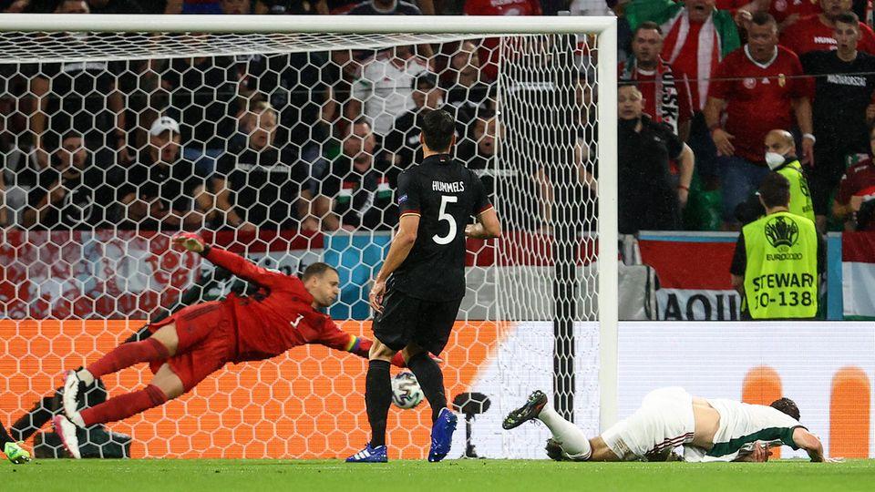 Die deutsche Nationalmannschaft kassierte bereits in der 11. Minute ein Tor