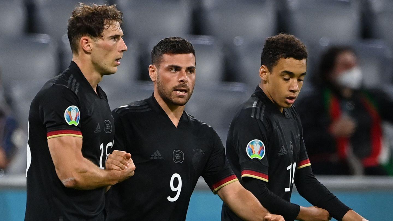 Leon Goretzka Germany Hungary European Championship 2021