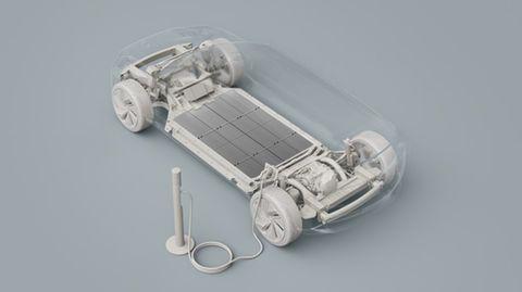 Volvo Batterie für Elektroauto