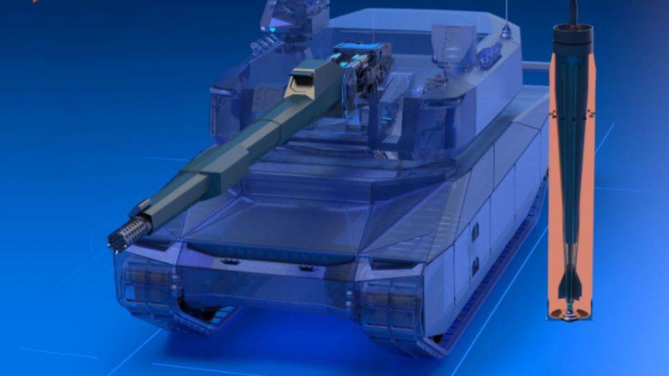 Nexter präsentierte die modernere Kanone.