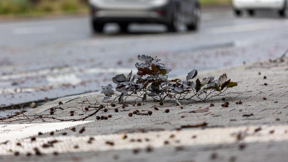 Fünf Verletzte nach Unwetter bei Reutlingen