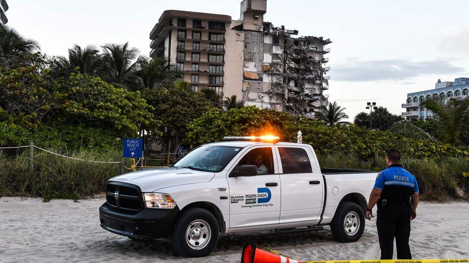 Miami Beach Surfside Haus eingestürzt