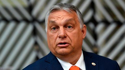 Viktor Orban, Ministerpräsident von Ungarn, kommt zum Gipfel der EU-Staats- und Regierungschefs