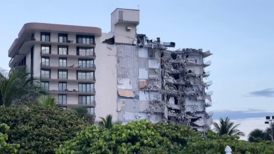 News vom Wochenende: Zahl der Toten nach Einsturz von Wohnhaus in Florida steigt auf neun