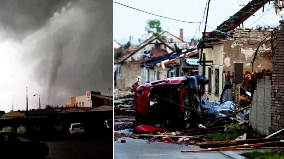 """""""Es ist die Hölle auf Erden"""": Tornado sorgt für Todesopfer und Verwüstungen in Tschechien"""