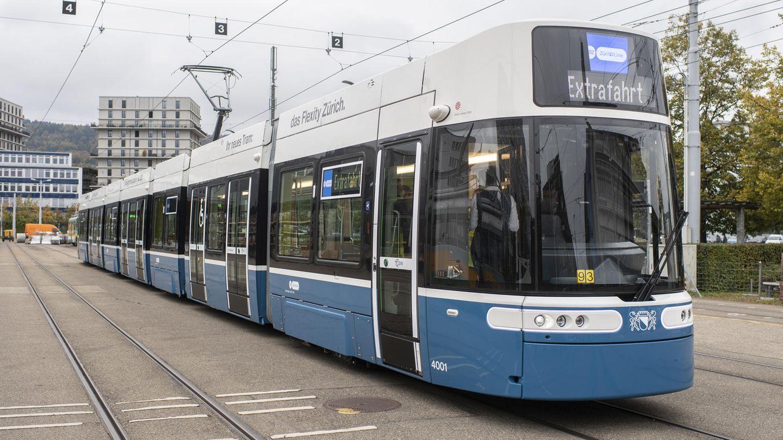 Tram in Zürich