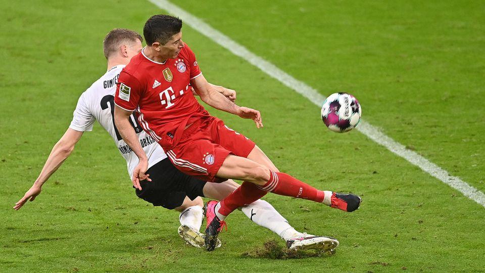 Bundesliga Start Bayern Gladbach