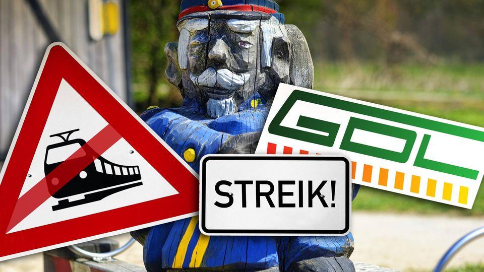 Nach einer Urabstimmung im August könnten die Lokführer streiken