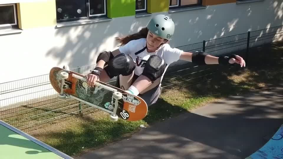 """Jüngste britische Olympionikin: Skateboarding-Profi Sky Brown tritt mit 13 bei Olympia an: """"Wenn du die Luft spürst, fühlt es sich beinahe an wie fliegen"""""""
