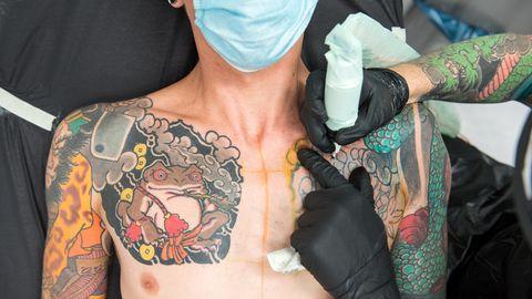 Tattoostudio der Firma Edding