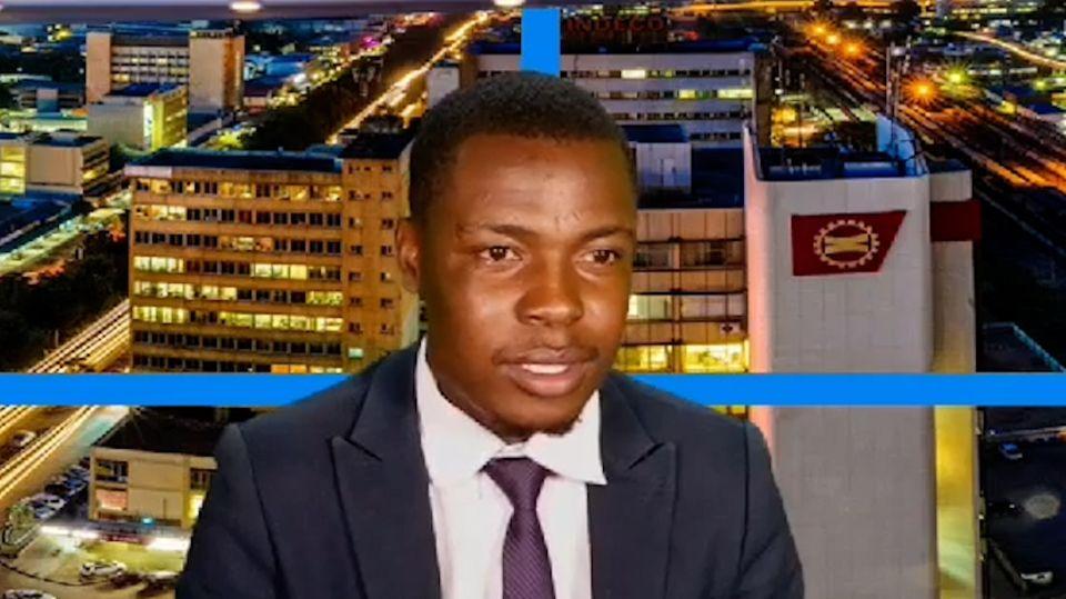 Sambischer TV-Moderator unterbricht Nachrichtensendung in eigener Sache